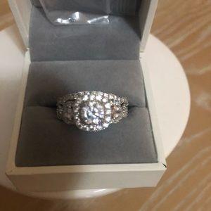 Newshe Engagement Ring Set
